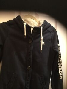 Abercrombie Hoodie _ Preowned Sherpa Lined