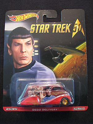 Hot Wheels 50th Star Trek 2016 DECO DELIVERY SPOCK