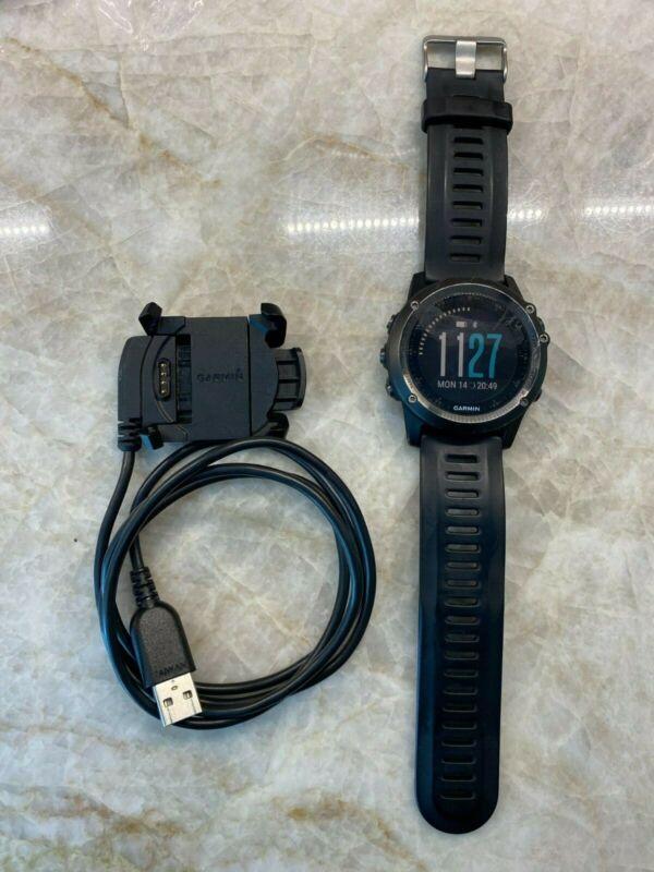 Garmin Fenix 3 slate gray GPS watch
