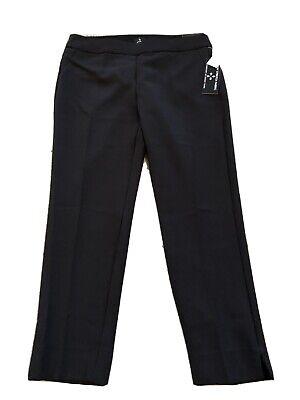 NWT roz Ali Womens 4P Black Classic Fit Ankle Dress Pants $39.95