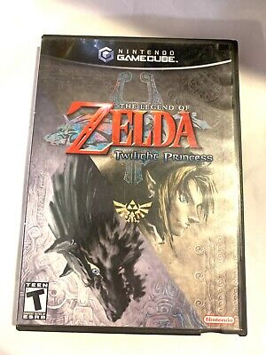 Legend of Zelda: Twilight Princess GameCube Edition COMPLETE! + Tested & Working