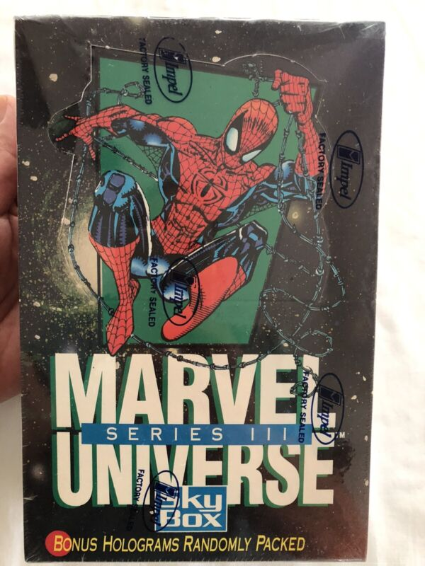1992 Marvel Universe Series III 3 Trading Cards by Skybox factory sealed NEW