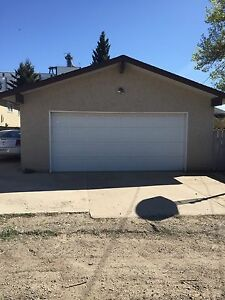 Double care heated garage for rent.