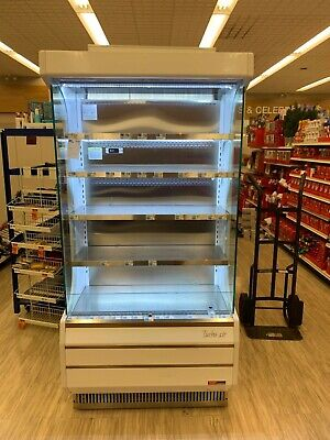 Turbo Air Tom-40w 40 Open Air Grab And Go Used Refrigerator Cooler Display Case