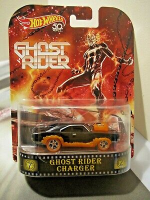 Hot Wheels Retro Entertainment Ghost Rider Charger real riders metal/metal