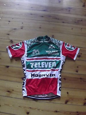 Brand New Team 7 Eleven Cycling Jersey Andy Hampsten