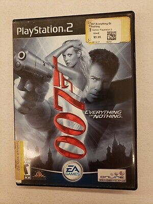 PS2 007 Everything or Nothing PlayStation 2 Tested Works  Quick Ship