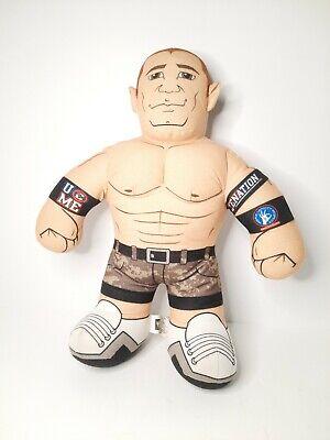 """2011 WWE John Cena 16"""" Brawlin Buddies Talking Wrestler Plush Tested Working"""