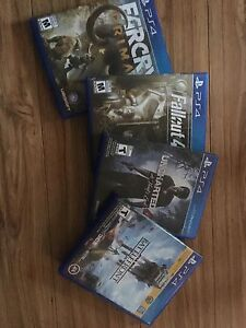 Ps4 with games and extra controller