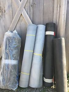 Rolls of outdoors screen