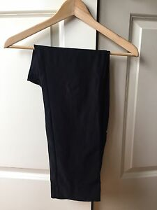 Thyme Maternity Black Dress Pants Size M