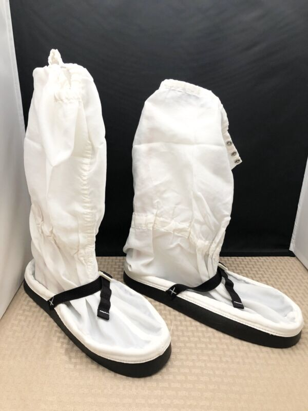 Aramark Lab Clean Room Boots, Size Large (2 Pairs)