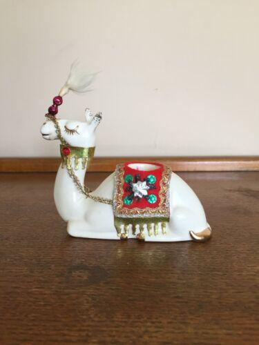 Vtg Holt Howard camel candle holder Christmas Japan