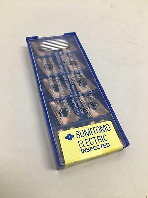 10 Sumitomo Carbide Inserts Axmt170508peer-g Grade Acp200 Us Seller