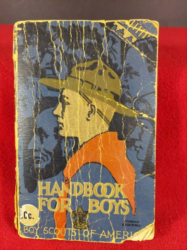 Vintage FIRST EDITION 1931 Boy Scout Handbook For Boys BSA