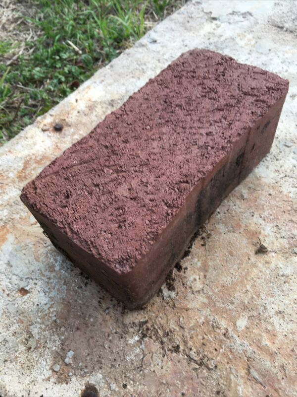 """Brick From Route 66 - Original Highway Brick Paver Produced By Coffeyville 8""""x5"""""""