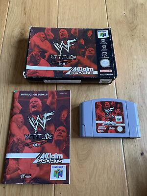 WWF ATTITUDE N64 GAME