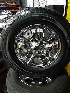 """100 series landcruiser 17"""" sahara gxv wheels Morphett Vale Morphett Vale Area Preview"""