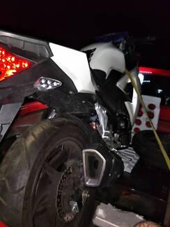Moto 3 250cc  6speed 2015 8144km Melton West Melton Area Preview