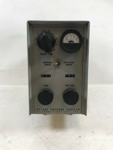 Ham Radio Antenna Coupler RF-302 Communications Inc.