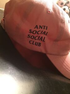 Deadstock 100% authentic anti social social club dad cap