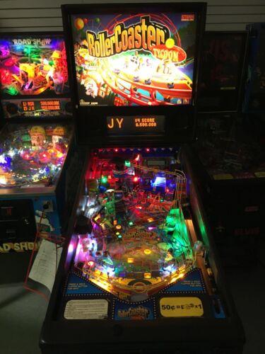 Rollercoaster Tycoon pinball