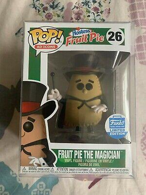 Funko Pop! Ad Icons #26 Hostess - Fruit Pie The Magician Shop Exclusive w/ Case