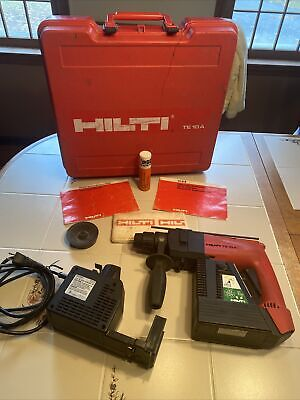 Hilti Te10a 36 Volt Cordless Rotary Hammer Drill Sds With Case Te 10 A