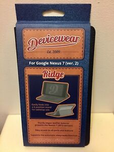 Devicewear For Google Nexus 7 Ver. 2  2013 Ridge Case(New)