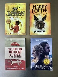 Harry Potter, Percy Jackson - good read. New Books - all 4 for $30