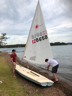 Laser sailing dinghy for sale