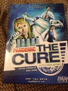 Pandemic the Cure game