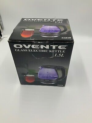 Best Ovente Large Electric Fast Heating Hot Water Tea Commercial Glass