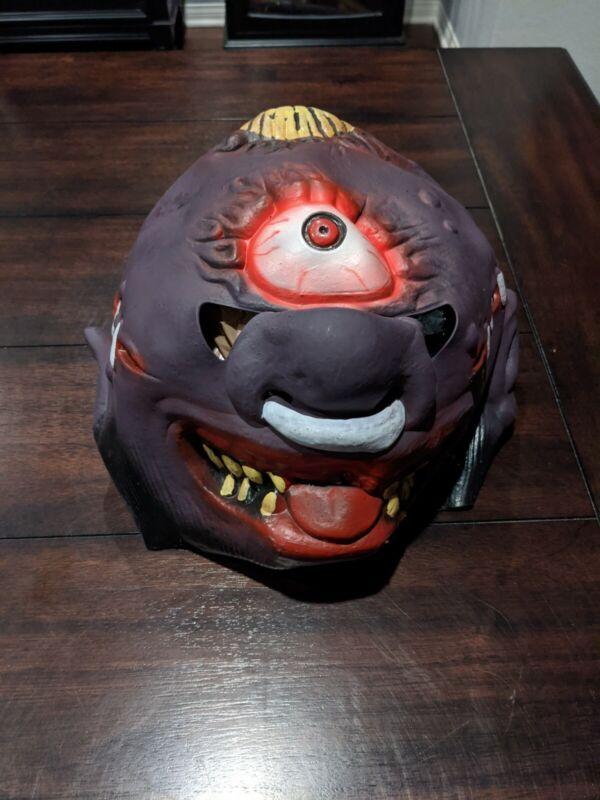 Madballs Horned Head Halloween Mask vintage 1986