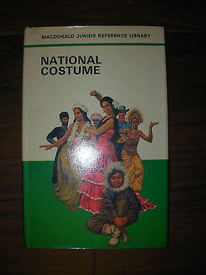 NATIONAL COSTUME HB BOOK MACDONALD JUNIOR REFERENCE LIBRARY - Costume Reference Library