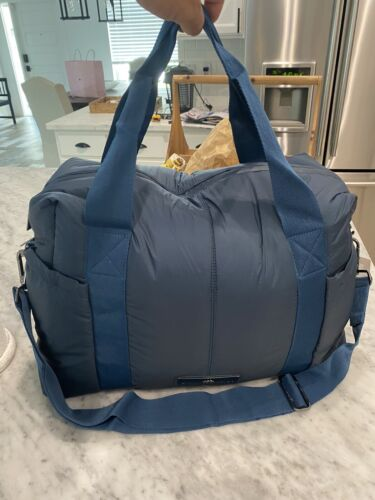 Adidas by Stella McCartney Shipshape Gym Overnight Duffle Bag Dk Petrol New