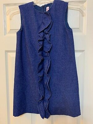 Pre-Owned il Gufo Girls Blue Dress Size 10