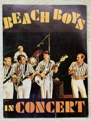 BEACH BOYS 1964 concert program