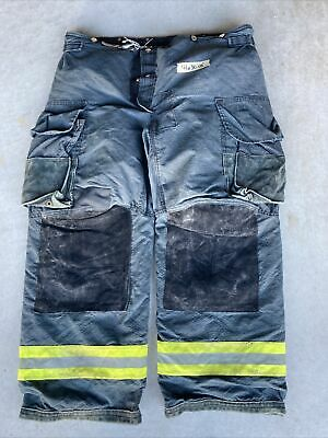 Firefighter Janesville Lion Apparel Turnout Bunker Pants 42x30 Black Costume 08