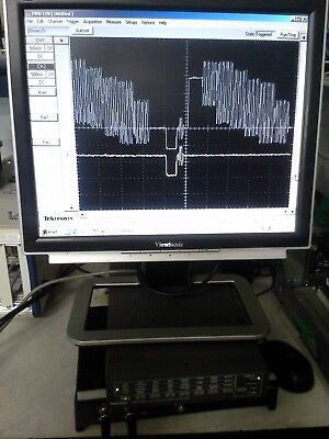 Tektronix Twd120 Pc Dso 100mhz 2 Chan. Probes Palsecamntscrs170 Triggering