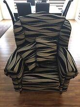 Black & white custom made arm chair Berwick Casey Area Preview