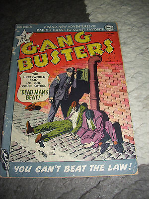 Gang Busters #17 G+ 2.5 DC Crime 1950!!, Very Nice, Golden Age, 52 Big Pages