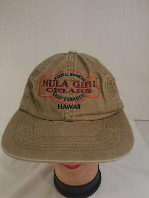 Hula Girl Cigars (Vintage Hula Girl Cigars Hawaii Baseball Cap)