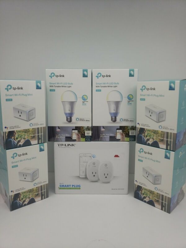Bundle TP-LINK: 4 HS105, 2 LB120, 1 HS110 Kit Brand New