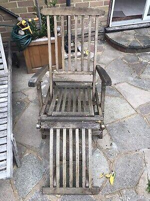 Steamer Chair Teak