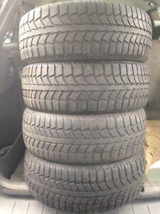 4-195/65R15 Uniroyal winter tires