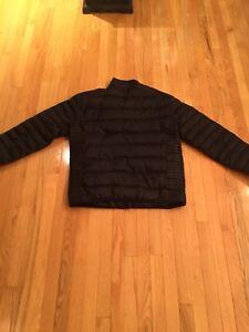 Moose Knuckle Black Ultra light Down Men's Jacket.