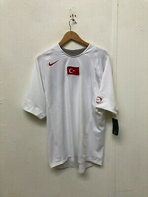 size 40 5d3bc a8597 Nike Men s Turkey Football Retro T90 Jersey - Large - White - New