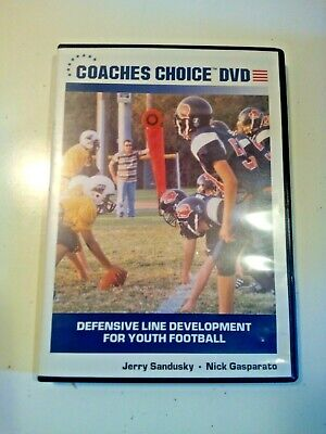 Coaches Choice DVD: Teaching Defensive Line Play For Youth Football VIDEO MOVIE