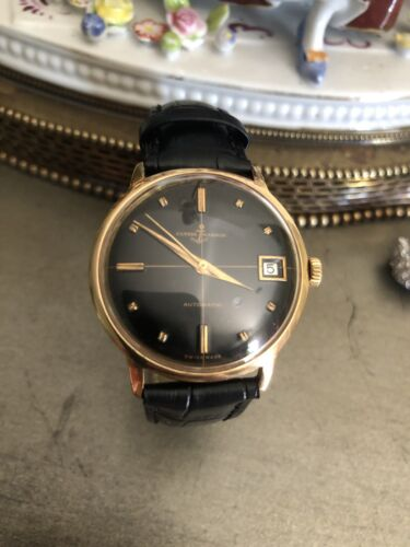 Vintage Ulysse Nardin Watch 18k Gold